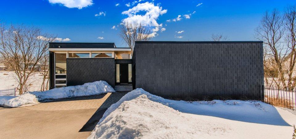 Необычный дом для суровых зим