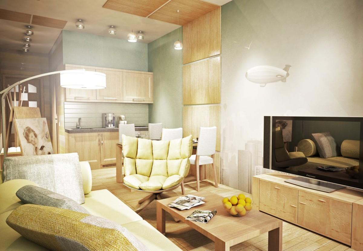 Гостиная, холл в цветах: светло-серый, белый, бежевый. Гостиная, холл в стиле экологический стиль.