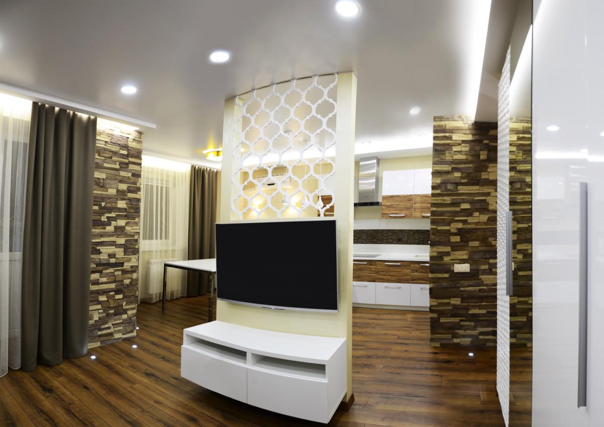 Дизайнерский ремонт трёхкомнатной квартиры обошёлся в 700 000 рублей