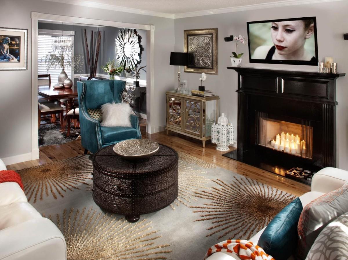 10 способов сделать гостиную своим отражением
