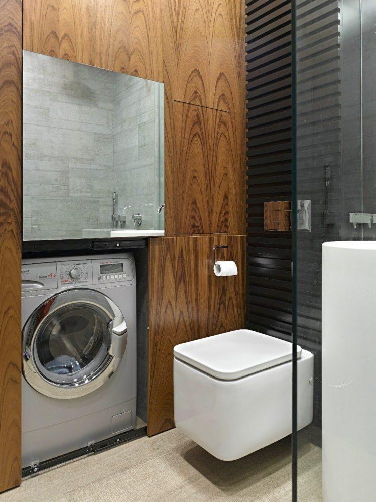 Где лучше разместить стиральную машину: 17 нестандартных вариантов
