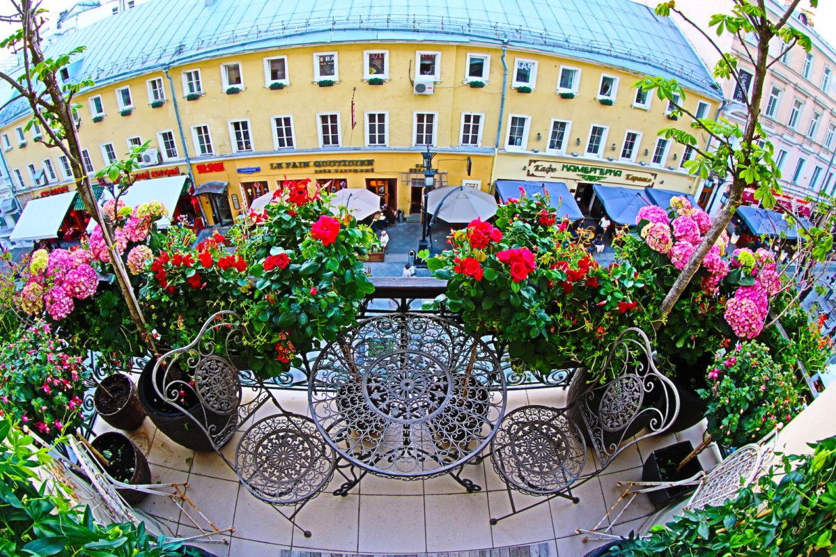Самый красивый балкон Москвы