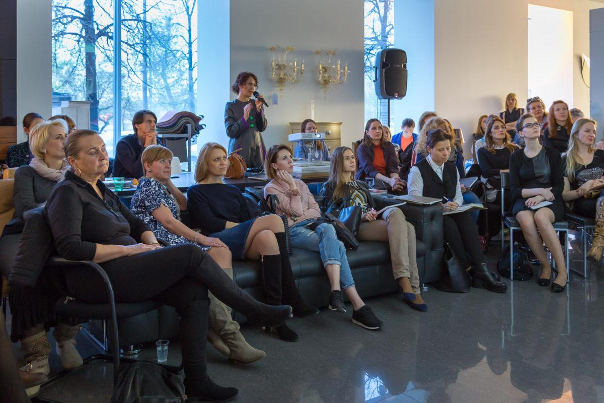 Фотоотчёт с лекции о новинках и трендах миланской выставки