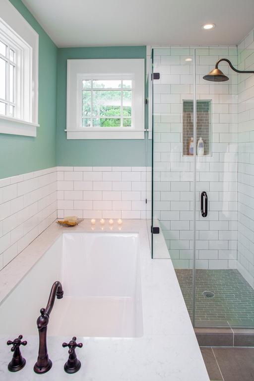 Ванная в  цветах:   Светло-серый, Серый.  Ванная в  стиле:   Скандинавский.