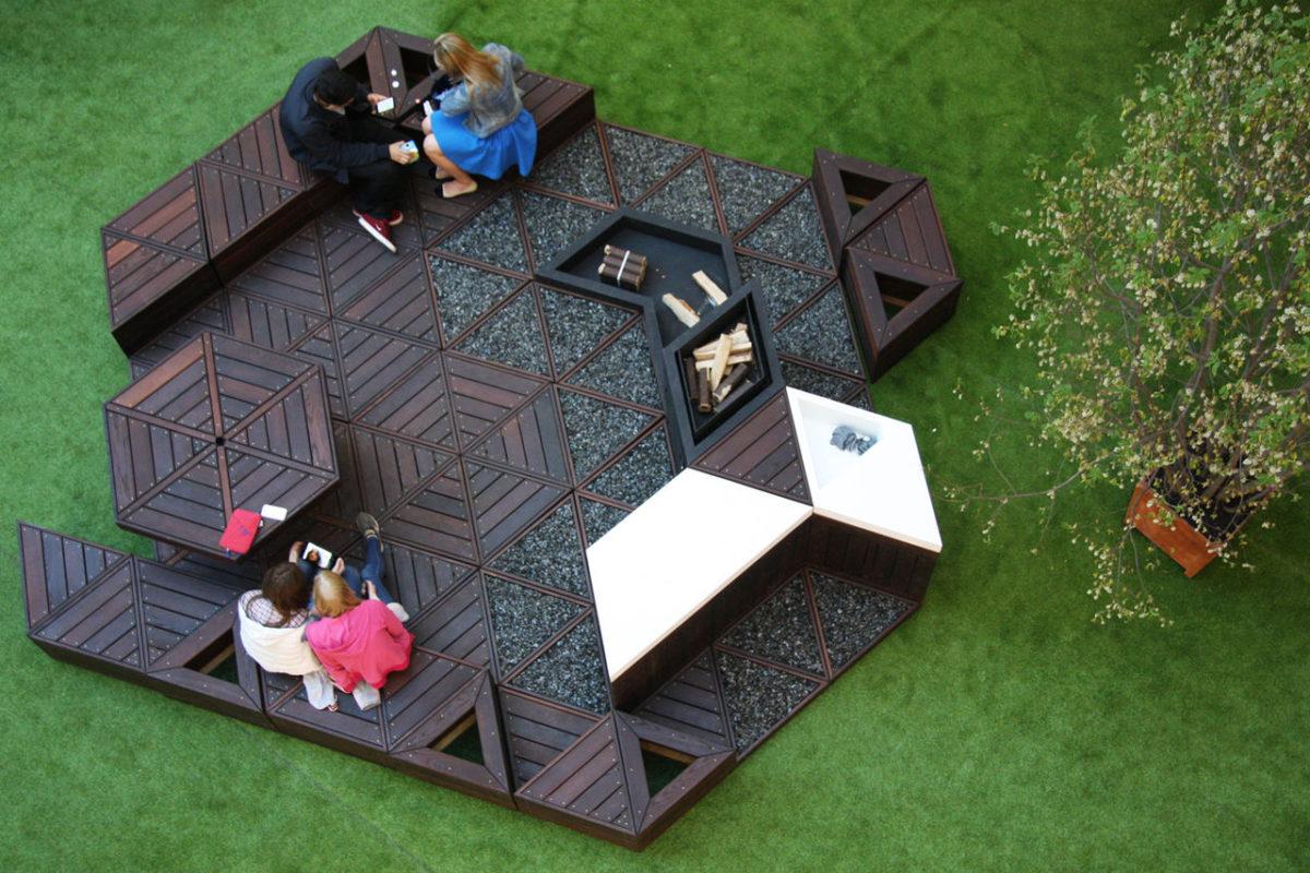 6 садов-трансформеров, которые можно собрать на любом участке
