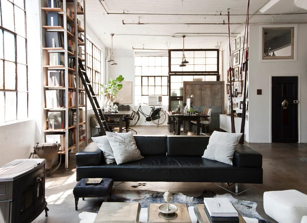 Уроки декора с Еленой Теплицкой: интерьер в стиле лофт