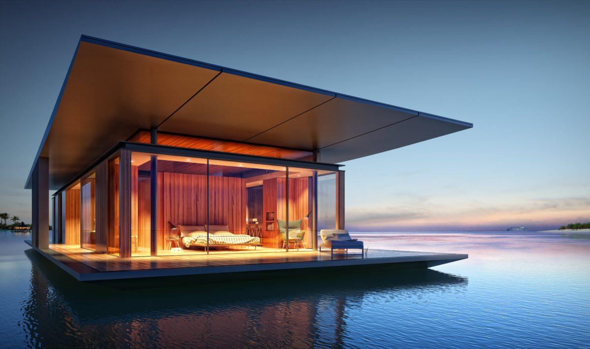 11 примеров крутых домов на воде: дебаркадеров и хаусботов