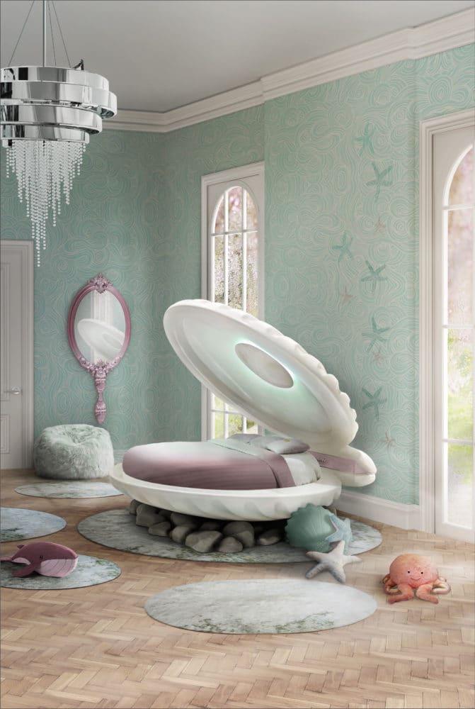 Детская мебель для девочки: кровать-мечта