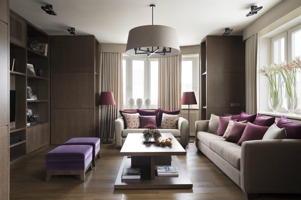 Идеальная трёхкомнатная квартира в модных тонах