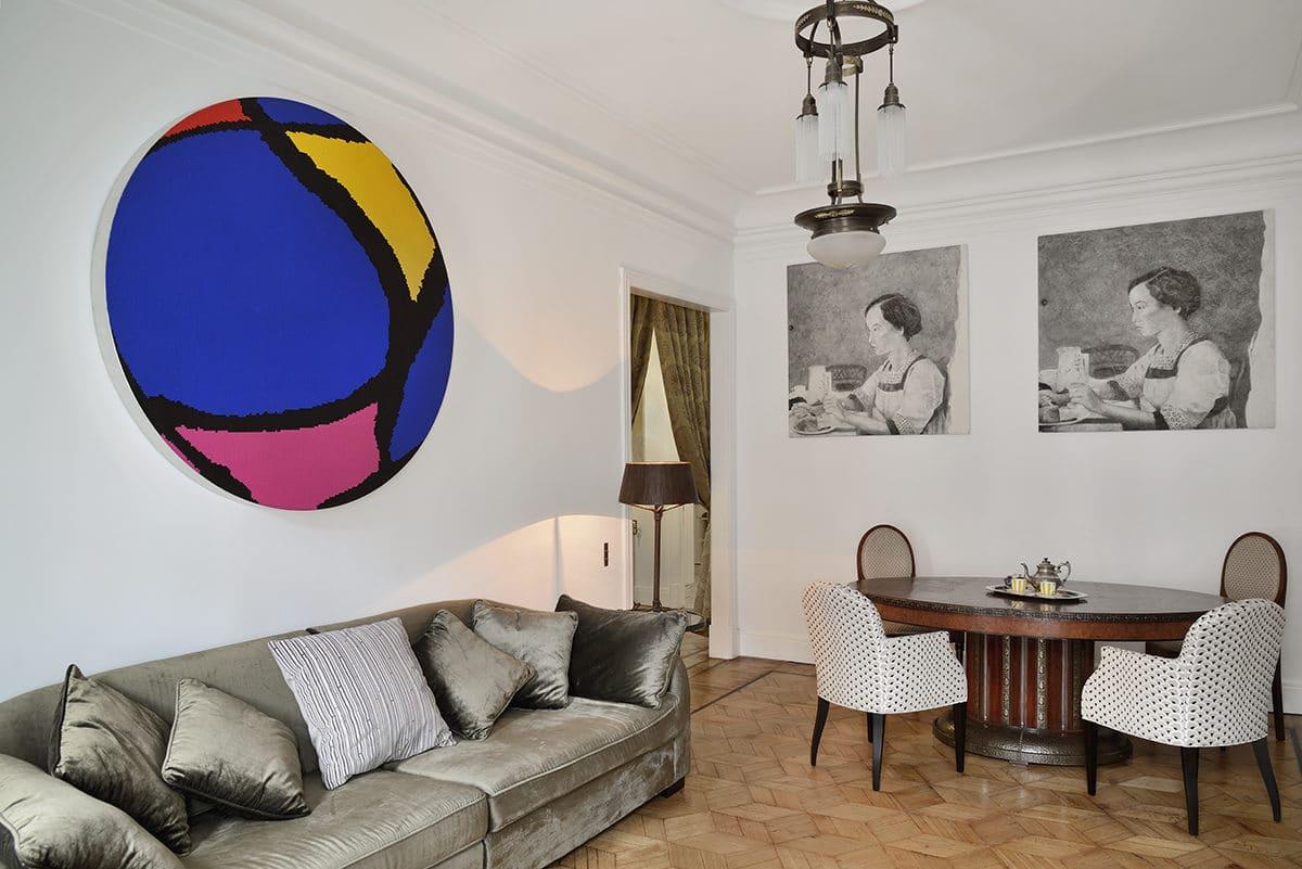 Интерьер недели: квартира в доходном доме
