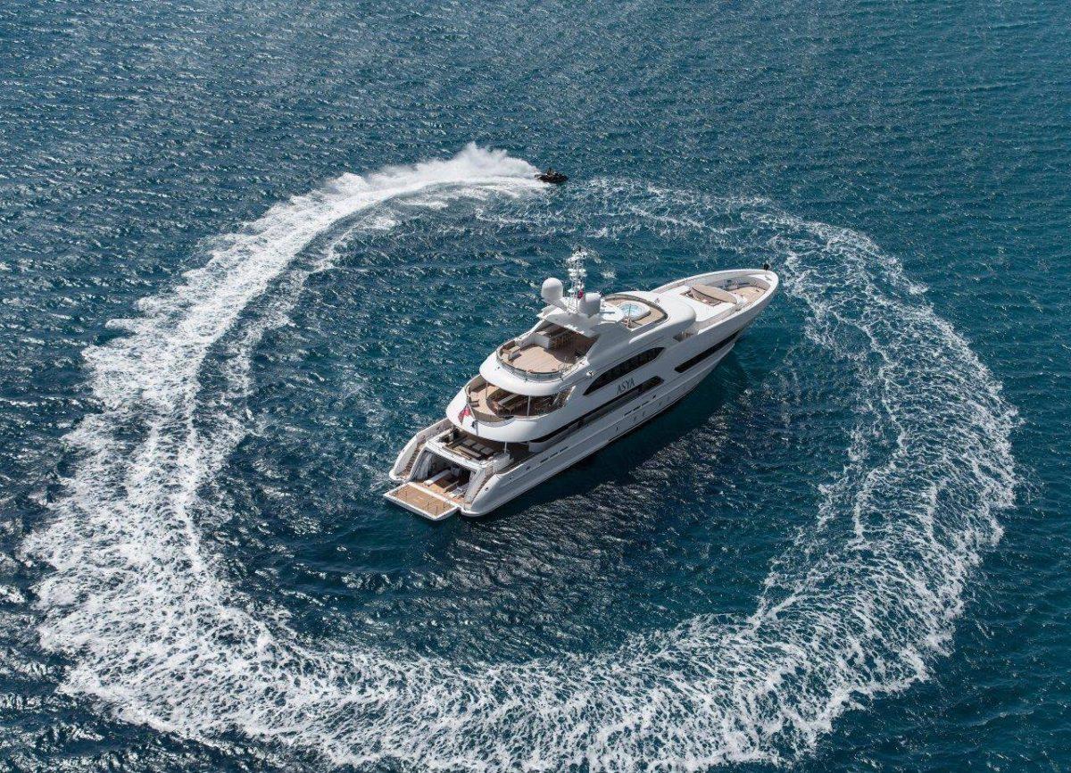 Впечатляющий дизайн: суперъяхта M/Y Asya приведёт в восхищение даже миллиардеров