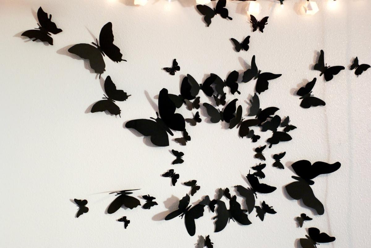 Эффект бабочки: 9 идей дизайна для стен