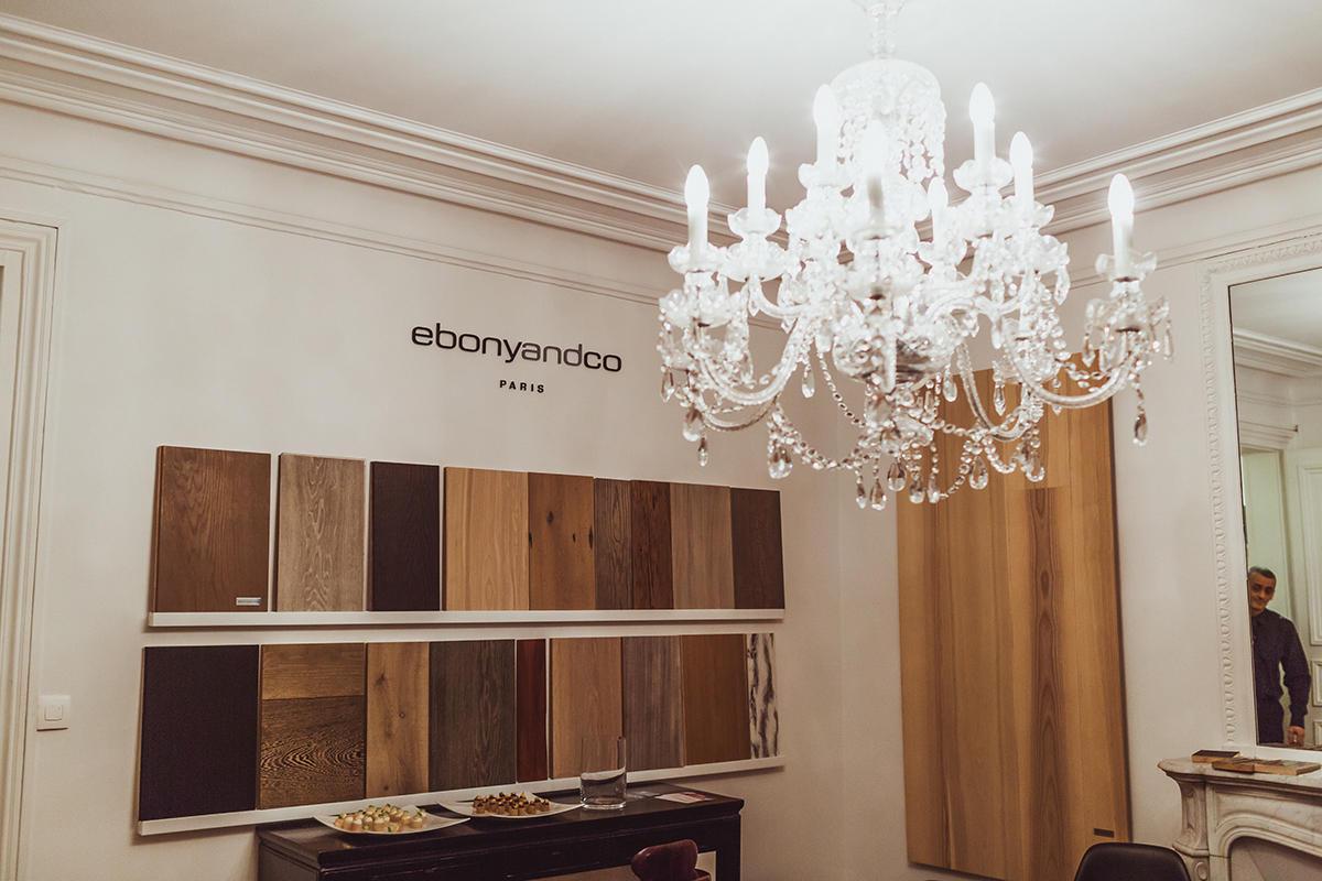 Компания Ebony and Co собрала в Париже друзей