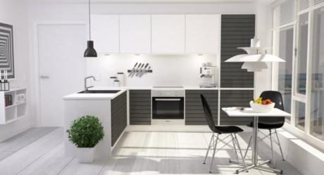 Кухня/столовая в  цветах:   Бежевый, Бордовый, Светло-серый, Серый, Темно-зеленый.  Кухня/столовая в  стиле:   Скандинавский.