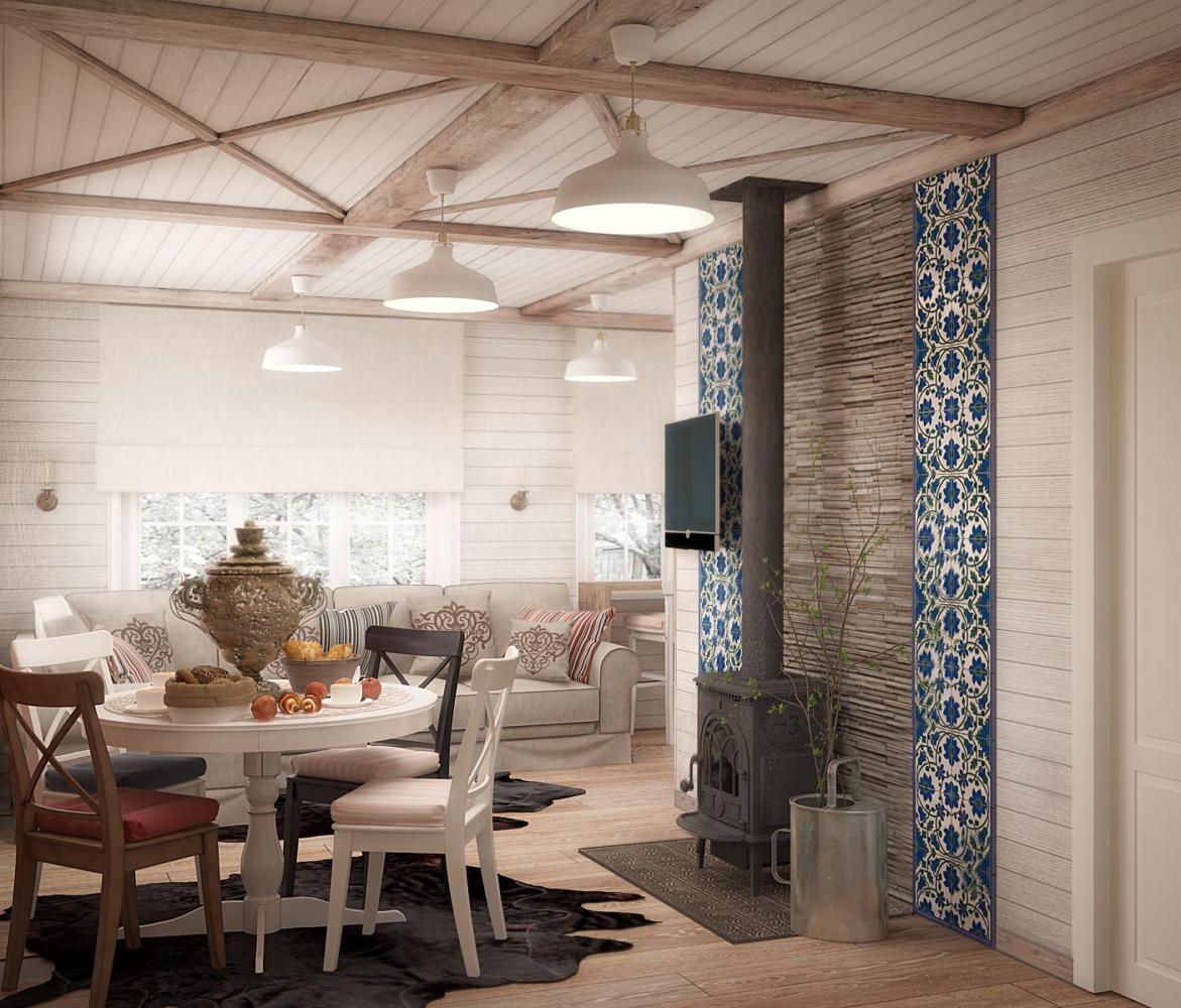 Дом мечты в Подмосковье с мебелью из ИКЕА