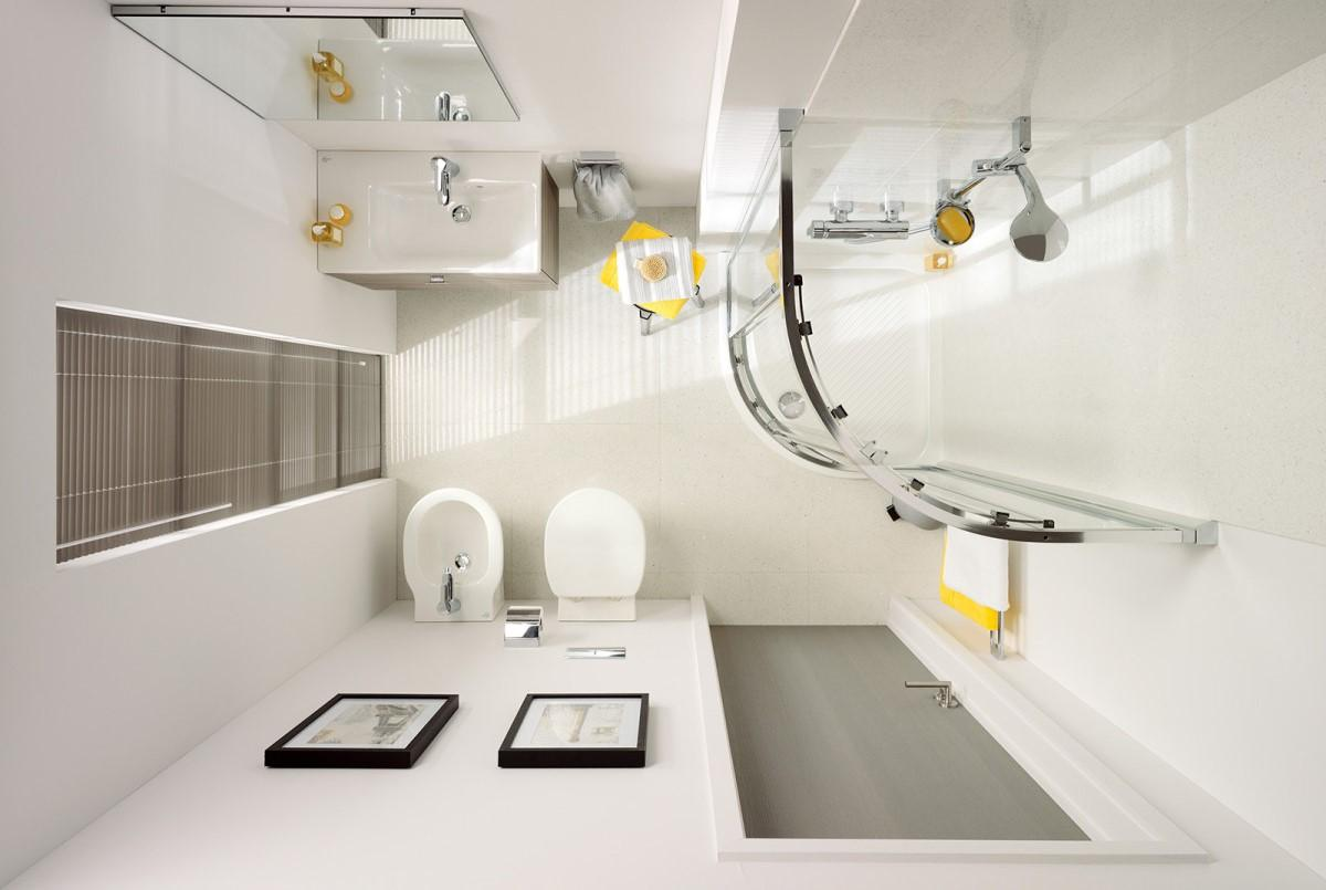 Маленькая ванная с большими возможностями — 7 оптимальных идей перепланировки