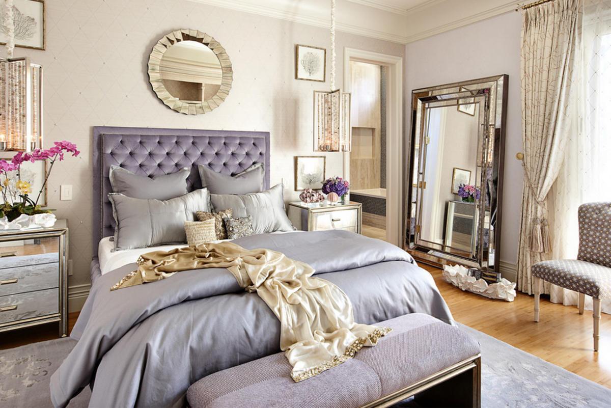 Любовь в интерьере: 15 идей для создания романтической спальни