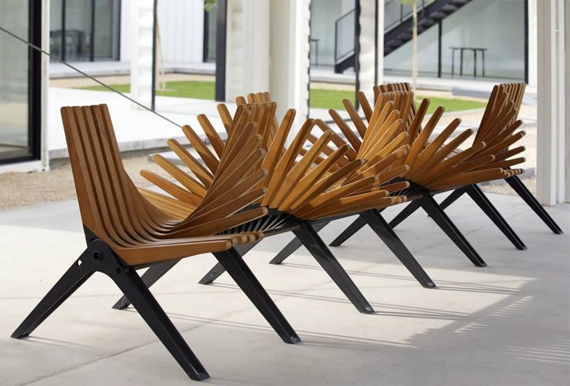 На выставке «АРХ Москва» будут показаны необычные скамейки, созданные архитекторами
