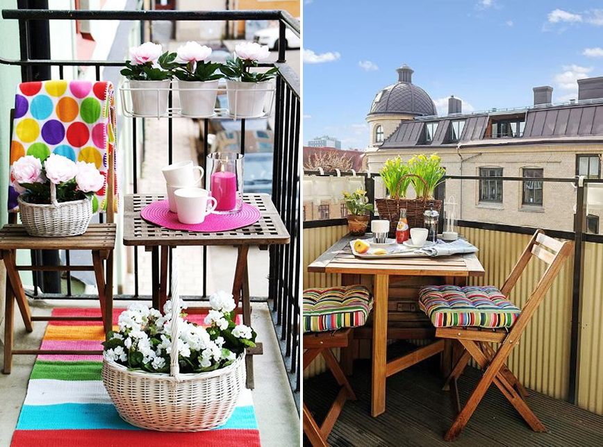 Маленькие и узкие балконы: во что превращать и как украшать.