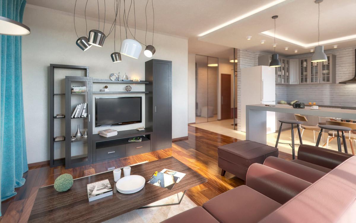 Светлая квартира с весенним настроением, космической детской и мебелью из ИКЕА