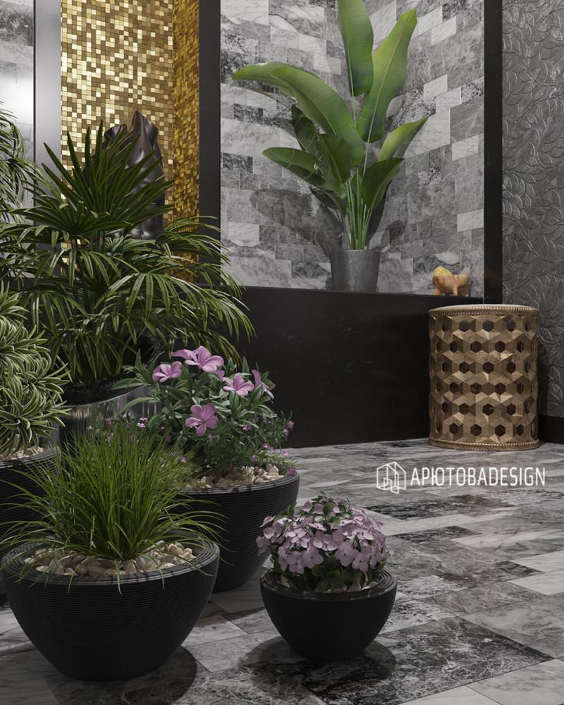 Если заказчики любят растения и готовы за ними ухаживать, этот шанс дизайнер должен использовать. Растениям быть в интерьере!