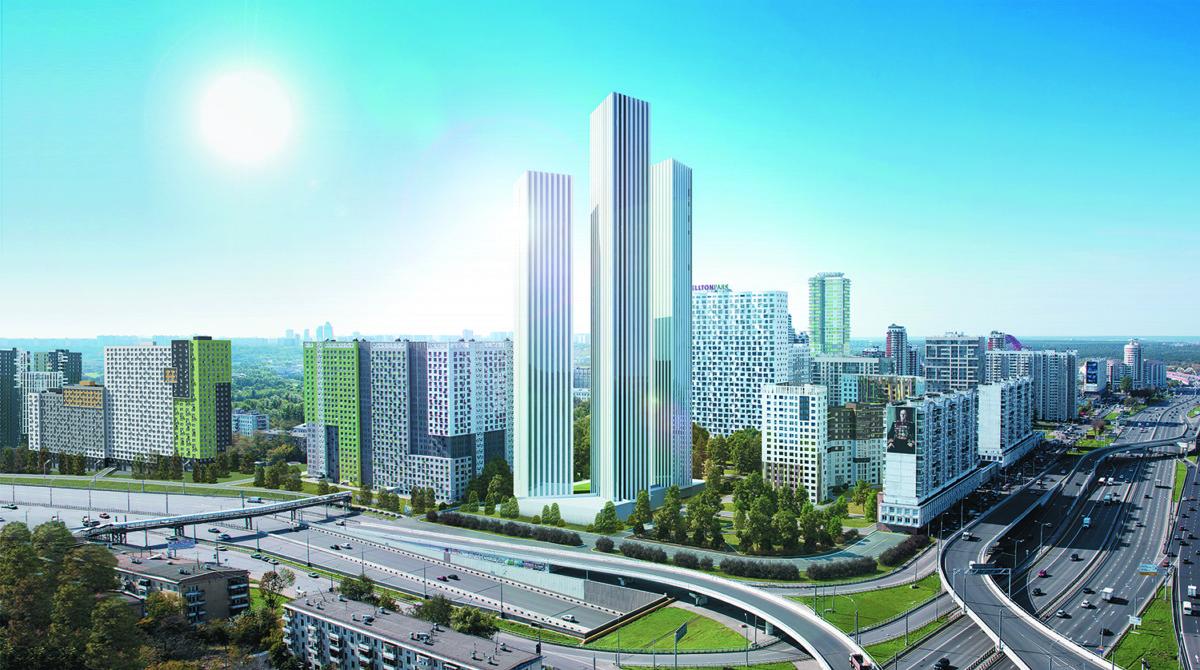 Ещё одним небоскрёбом в Москве станет больше