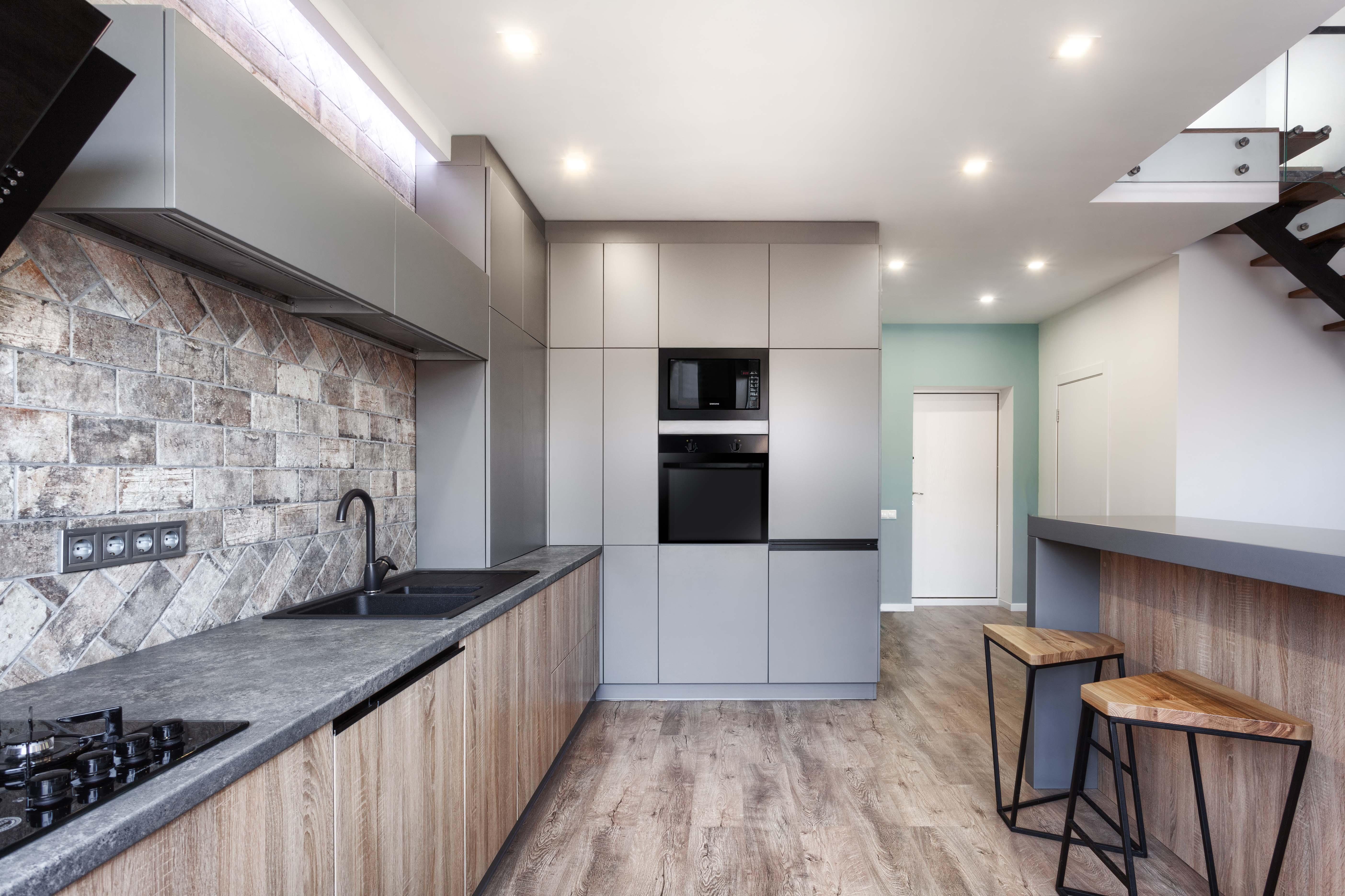 Яркий дизайн двухуровневой квартиры 112 кв