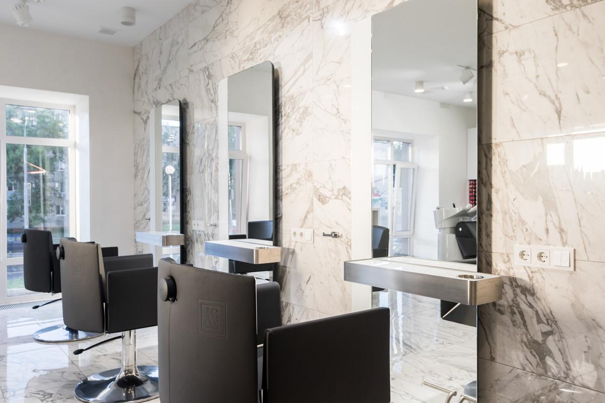 Рабочие места парикмахеров фирмы OLYMP (Германия)