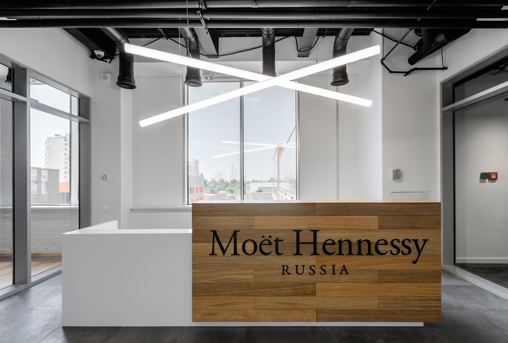 Шампанское на работе: новый офис Moеt Hennessy в «Большевике»