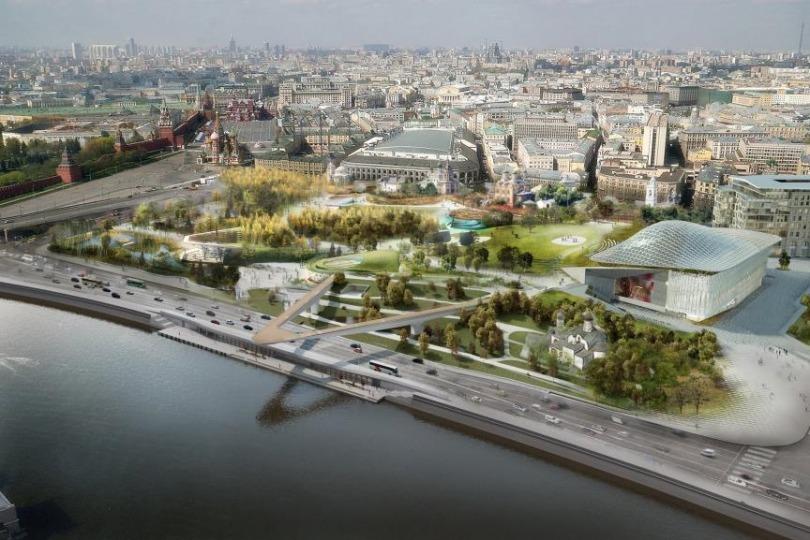 В Москве началась Неделя дизайна, на которую приехали архитекторы парка «Зарядье»