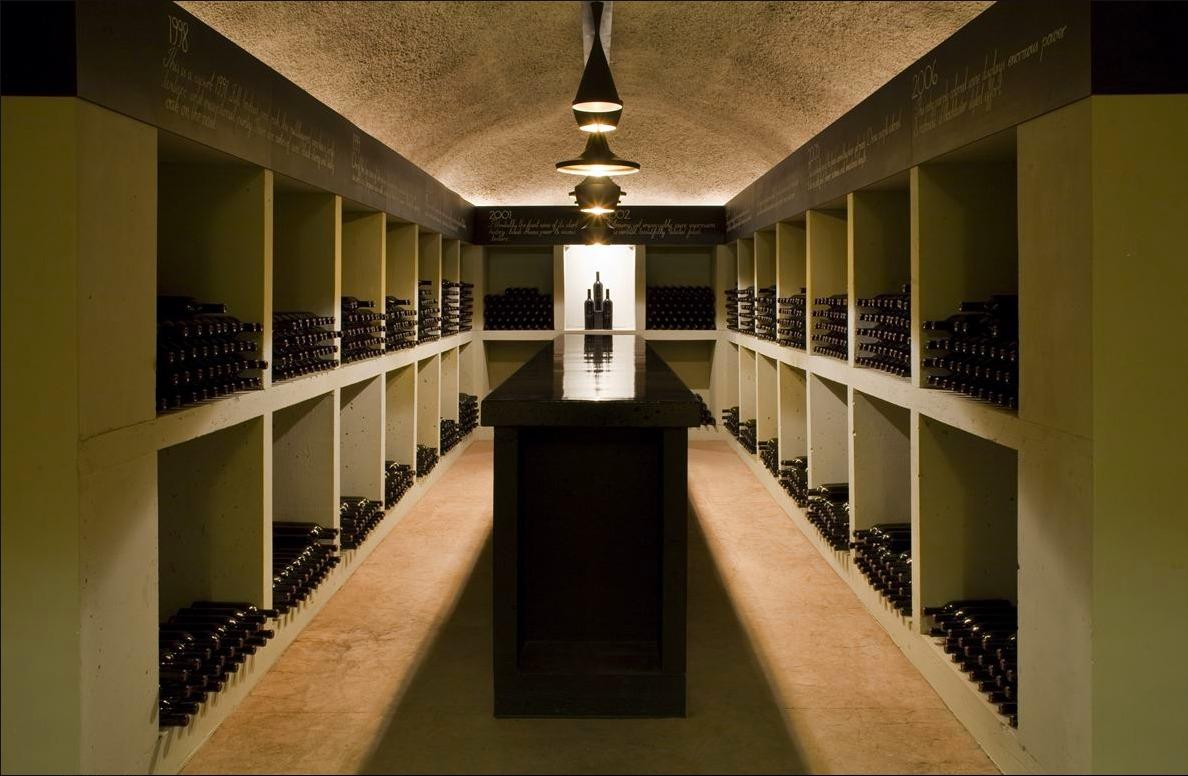 Дизайнерский интерьер для винодельни Merus