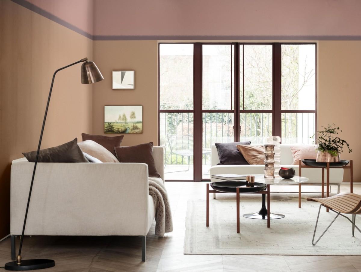 Дымчато-розовый объявлен главным цветом 2018 года