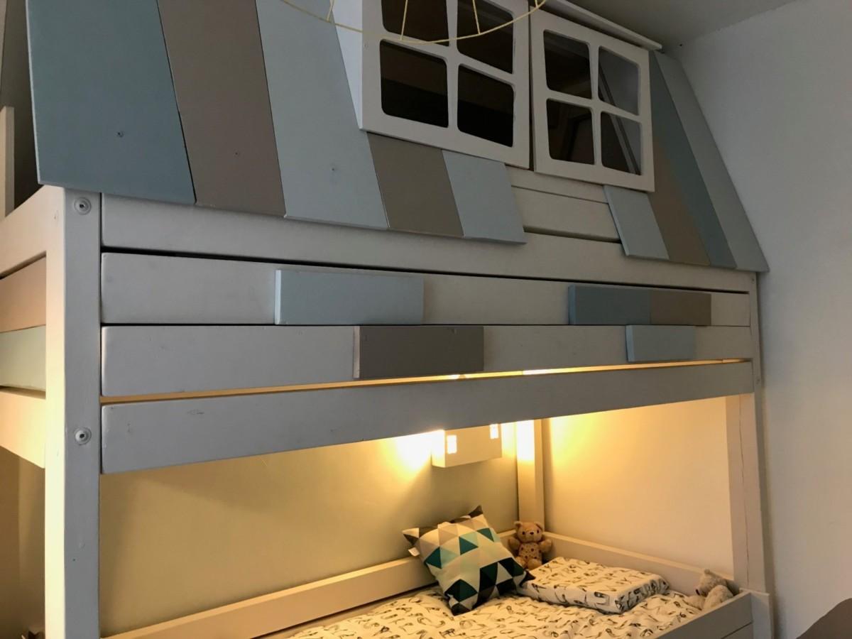 Как создать кровать-чердак для ребёнка