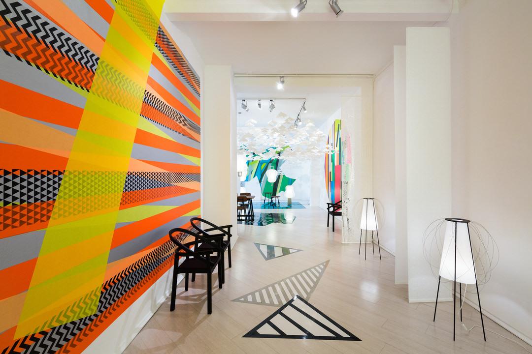 Полосы в интерьере: идея быстрого и эффектного декорирования
