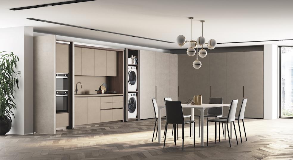 Как в одной комнате поместить спальню, кухню и гостиную: необычное решение