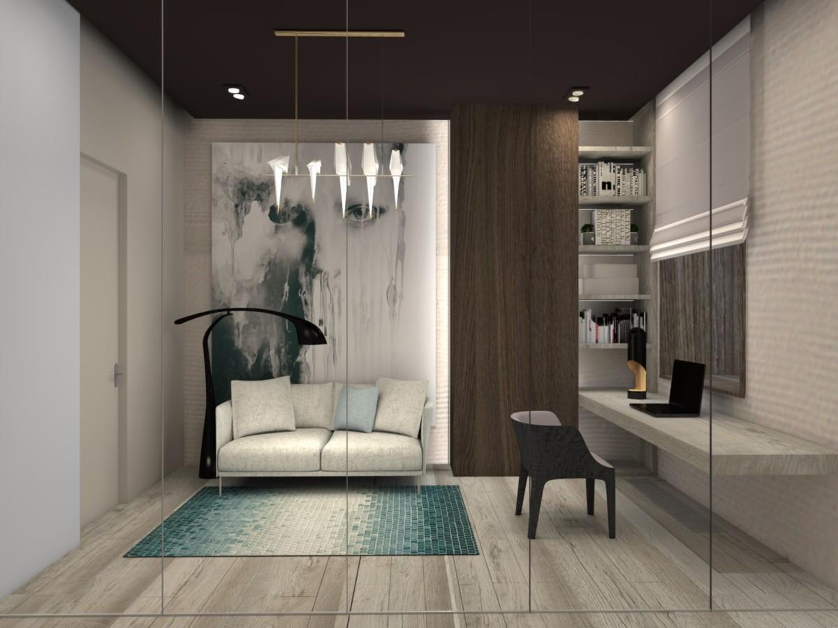 Московская квартира в японском стиле