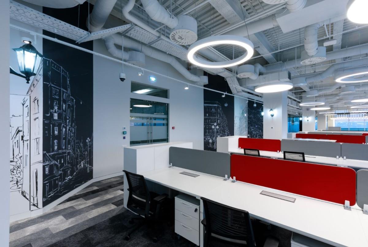 Бюро ABD architects создало дизайн нового офиса компании Huawei