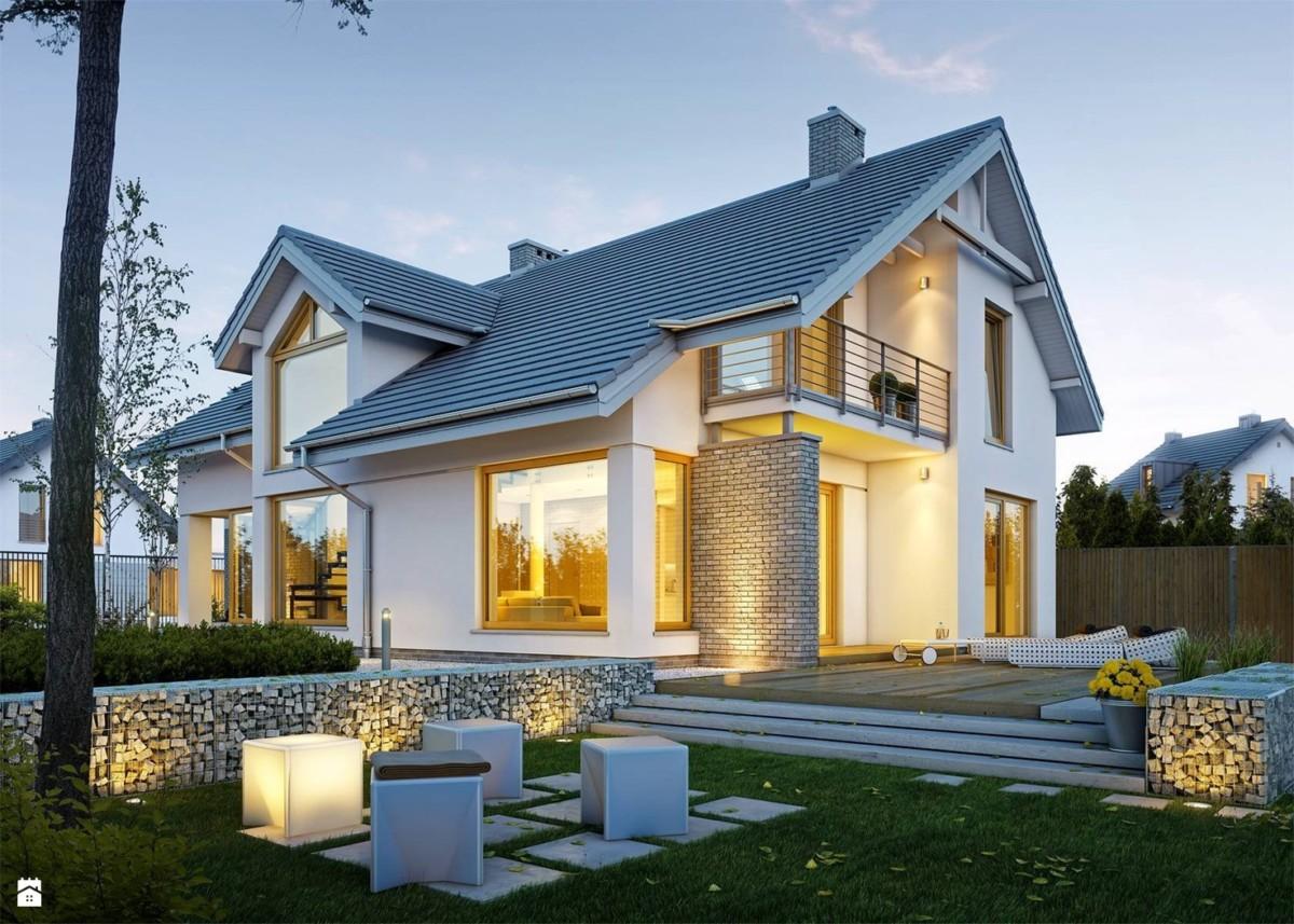 Современный стиль в архитектуре частного дома