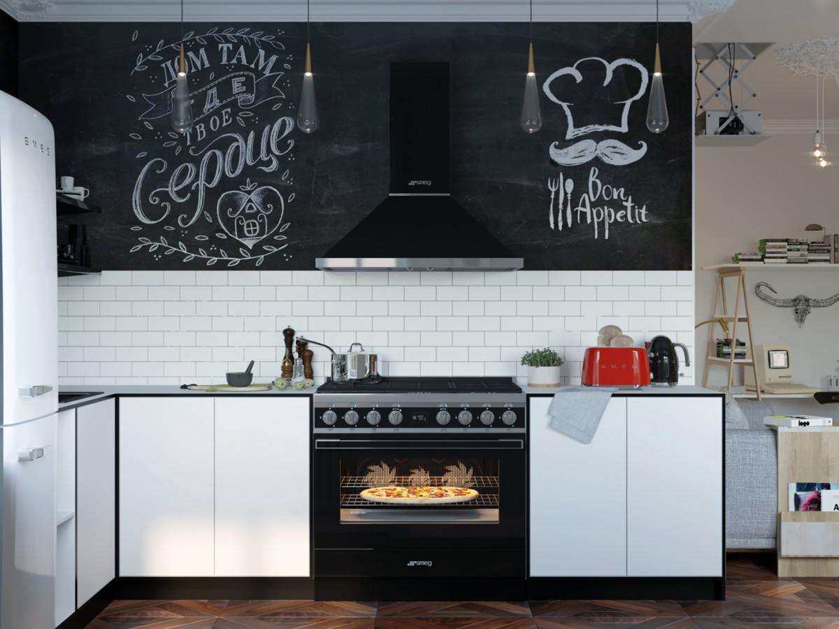 3 проекта кухонь, победивших в конкурсе Smeg