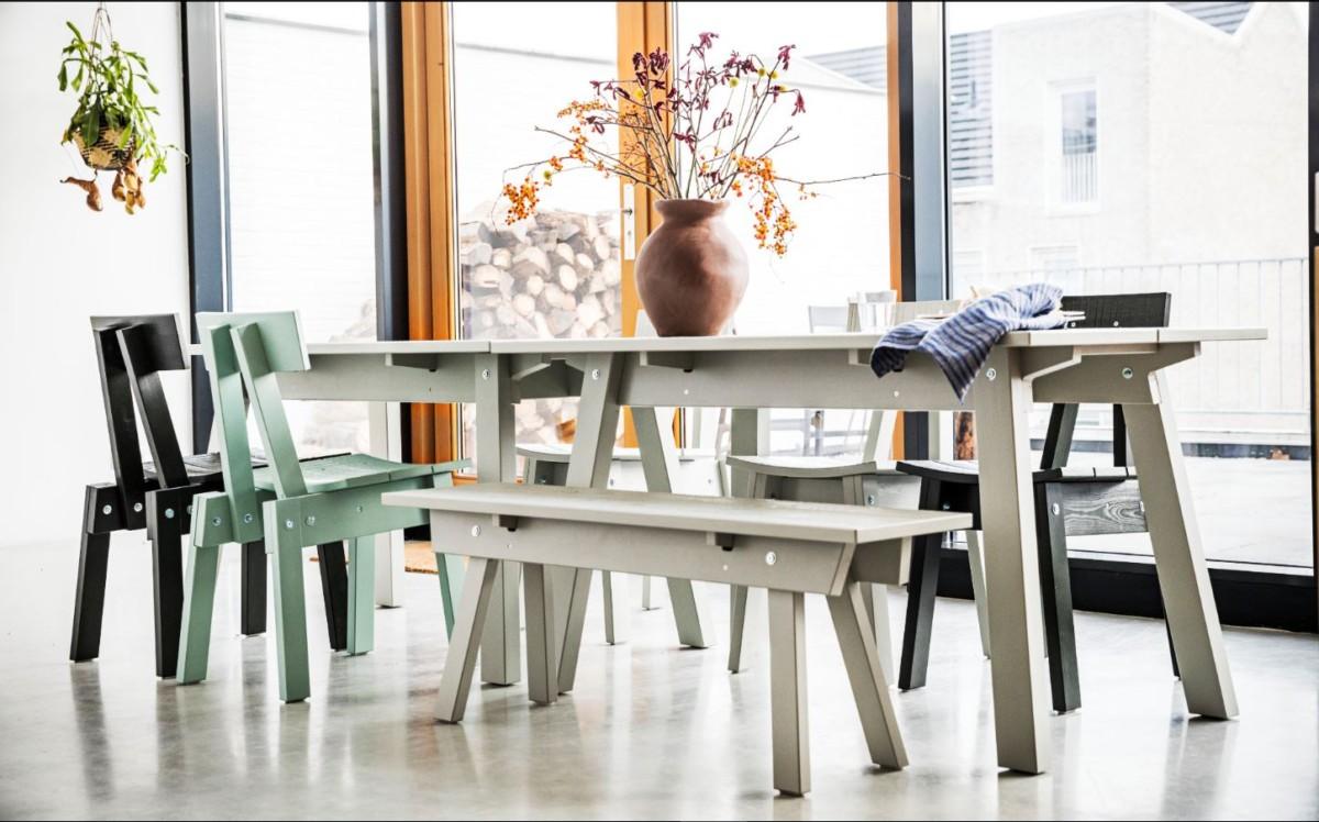 Компания ИКЕА выпустила коллекцию крафтовой мебели