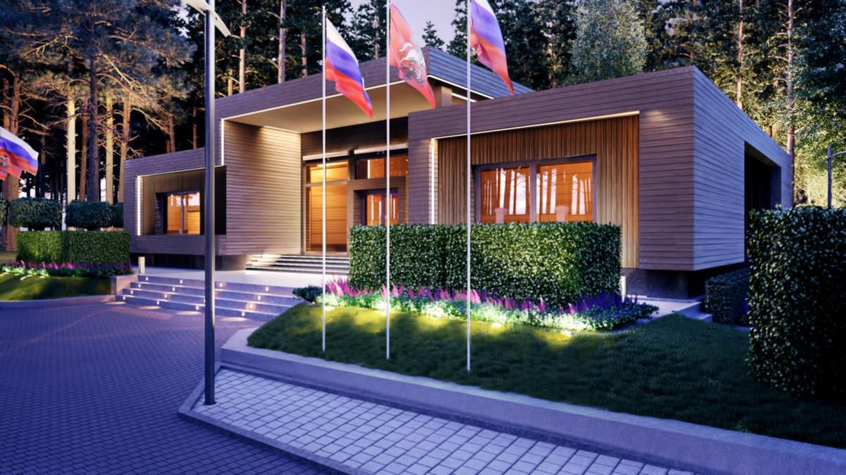 Престижный проект, не каждому дизайнеру доверят - Дом приемов президентов союзных государств без галстуков. Барвиха.