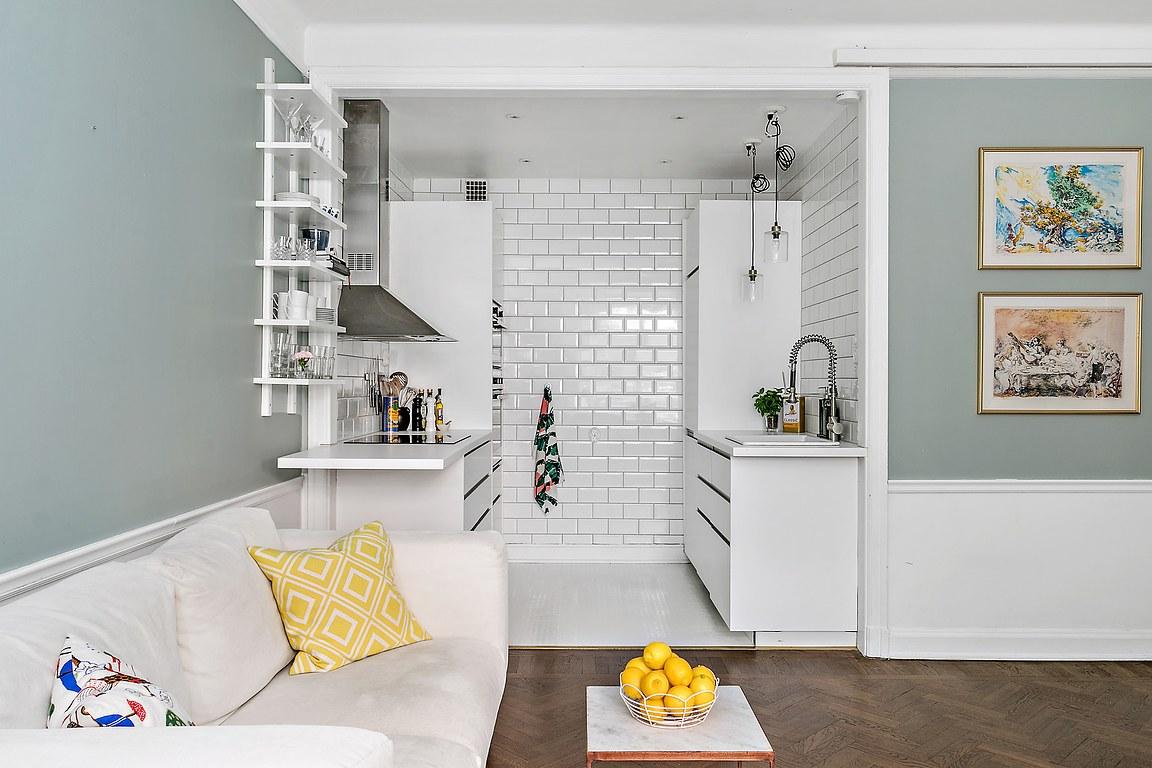 Потрясающая однокомнатная квартира с нишей