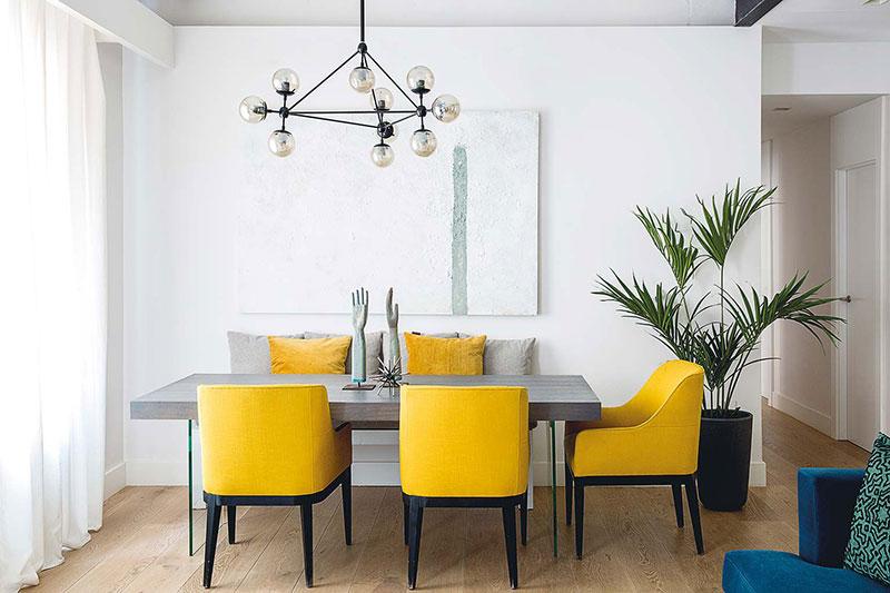 Яркая квартира в Мадриде с вдохновляющими интерьерами