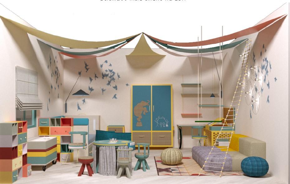 Обучающая детская мебель от российского дизайнера