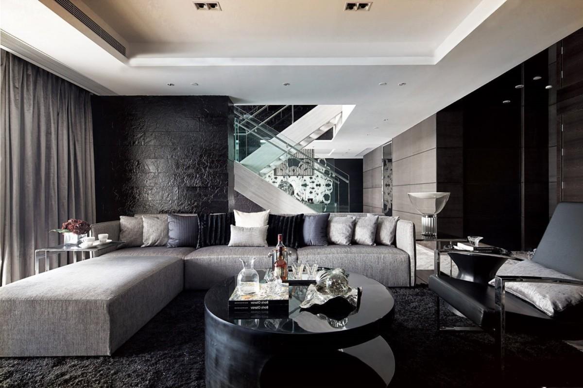 Черный цвет в интерьере: подборка мебели, декора и текстиля