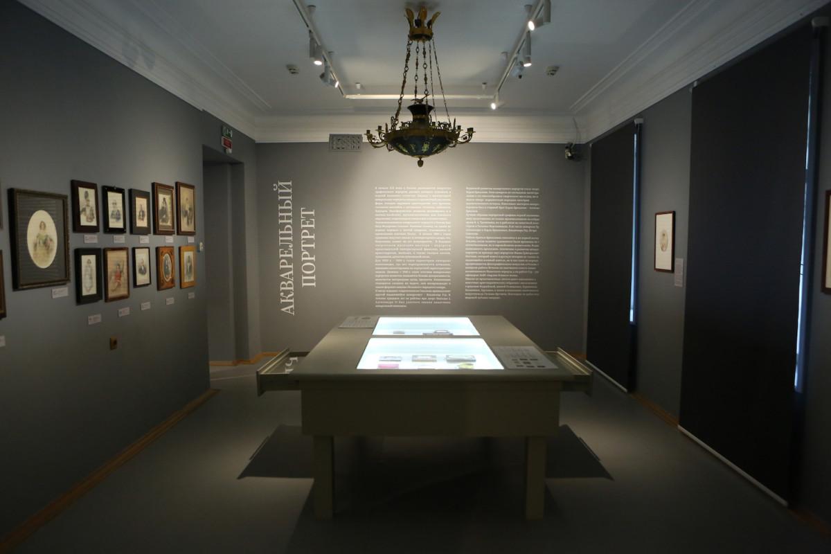 В Музее В. А. Тропинина и московских художников его времени открылась выставка «Акварельный портрет»