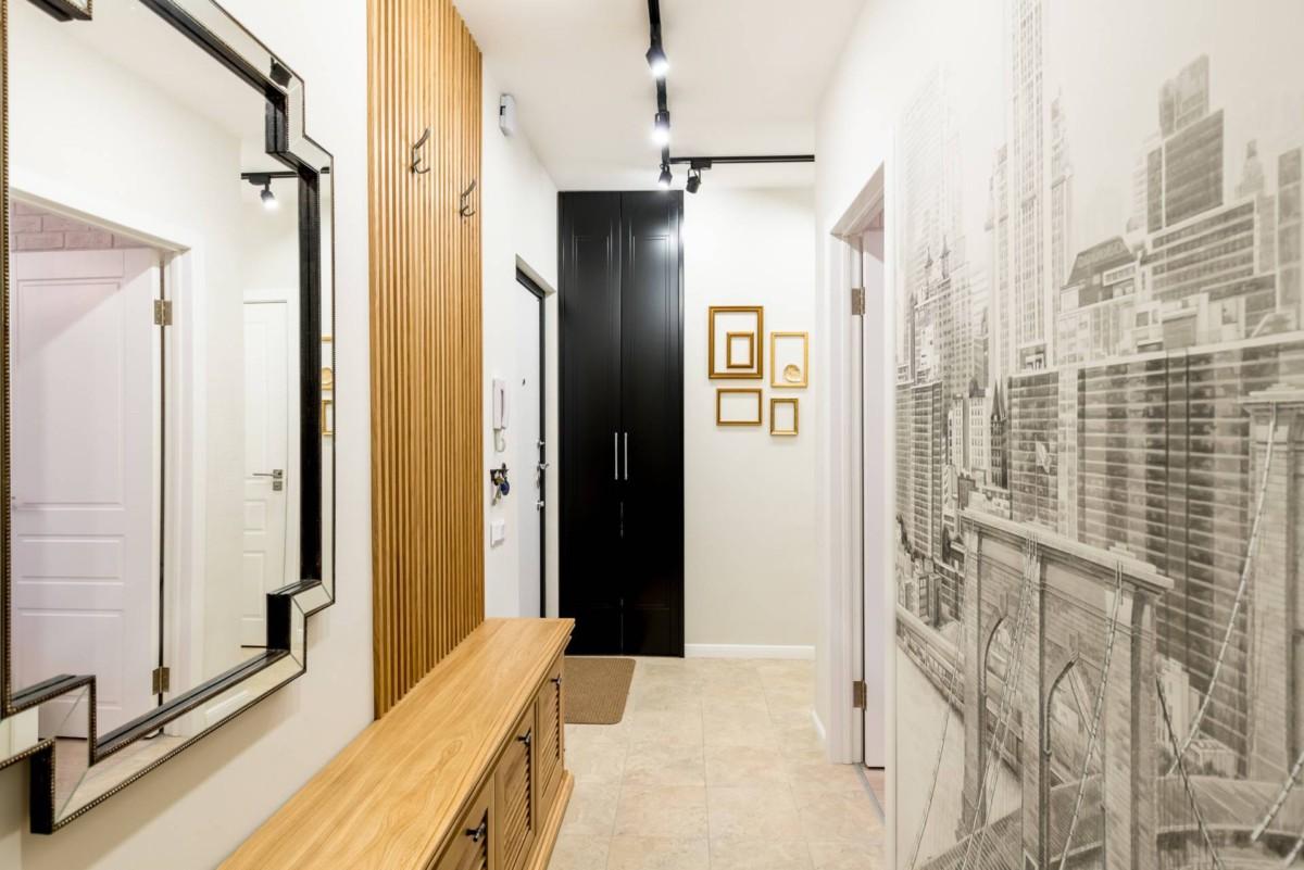 6 способов оформить узкий коридор, чтобы он казался шире