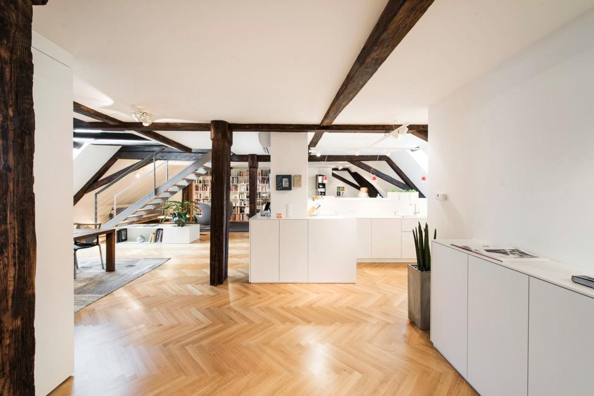 8 классных домов с необычными мансардами