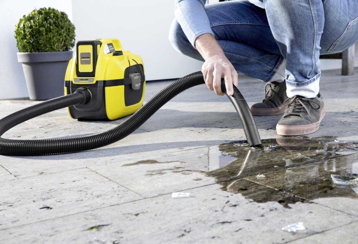 Аккумуляторный пылесос WD 1 Compact станет полезным помощником в уборке