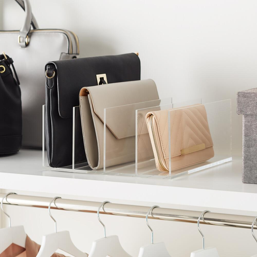 Красиво или практично: как хранить сумки